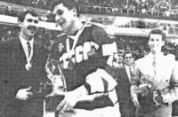 Валерий Каменский во время торжественного закрытия чемпионата