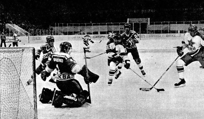 Ворота хоккейные картинка