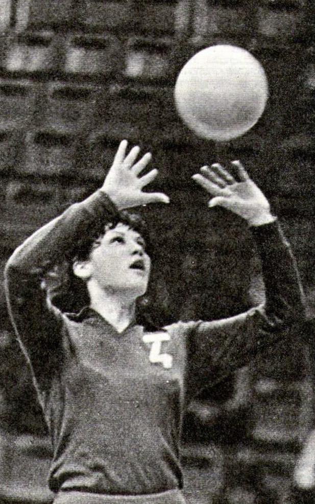 Алма-атинская волейболистка Ольга Кривошеева