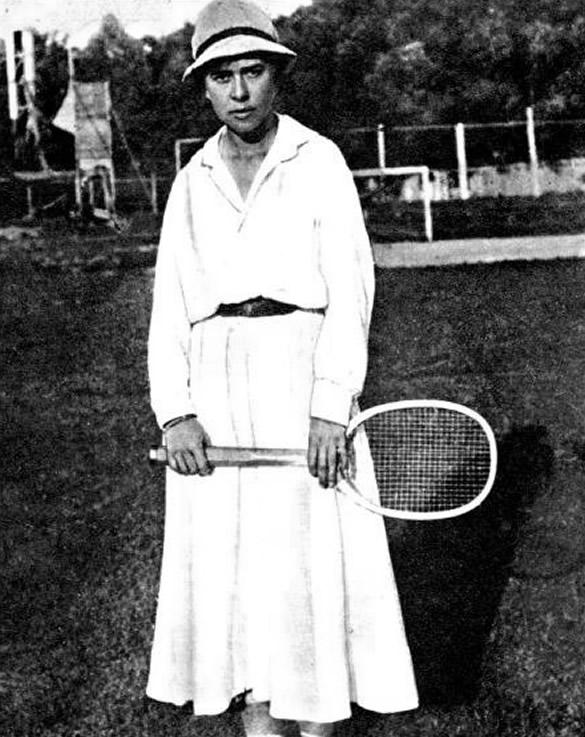 Чемпионка Москвы 1918 года Софья Мальцева
