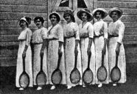 Члены Екатеринославского лаун-теннис клуба