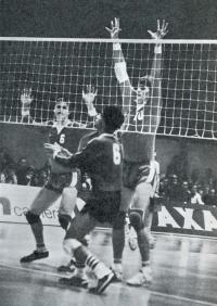 Игрок сборной ГДР Рене Шехта (10)
