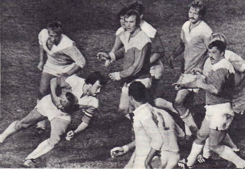 Игрок «Славы» и сборной СССР Михаил Паршин
