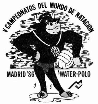 Логотип ЧМ по водному поло в Мадриде