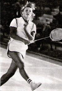 Наташа Иванова — одна из сильнейших юных 6админтонисток страны