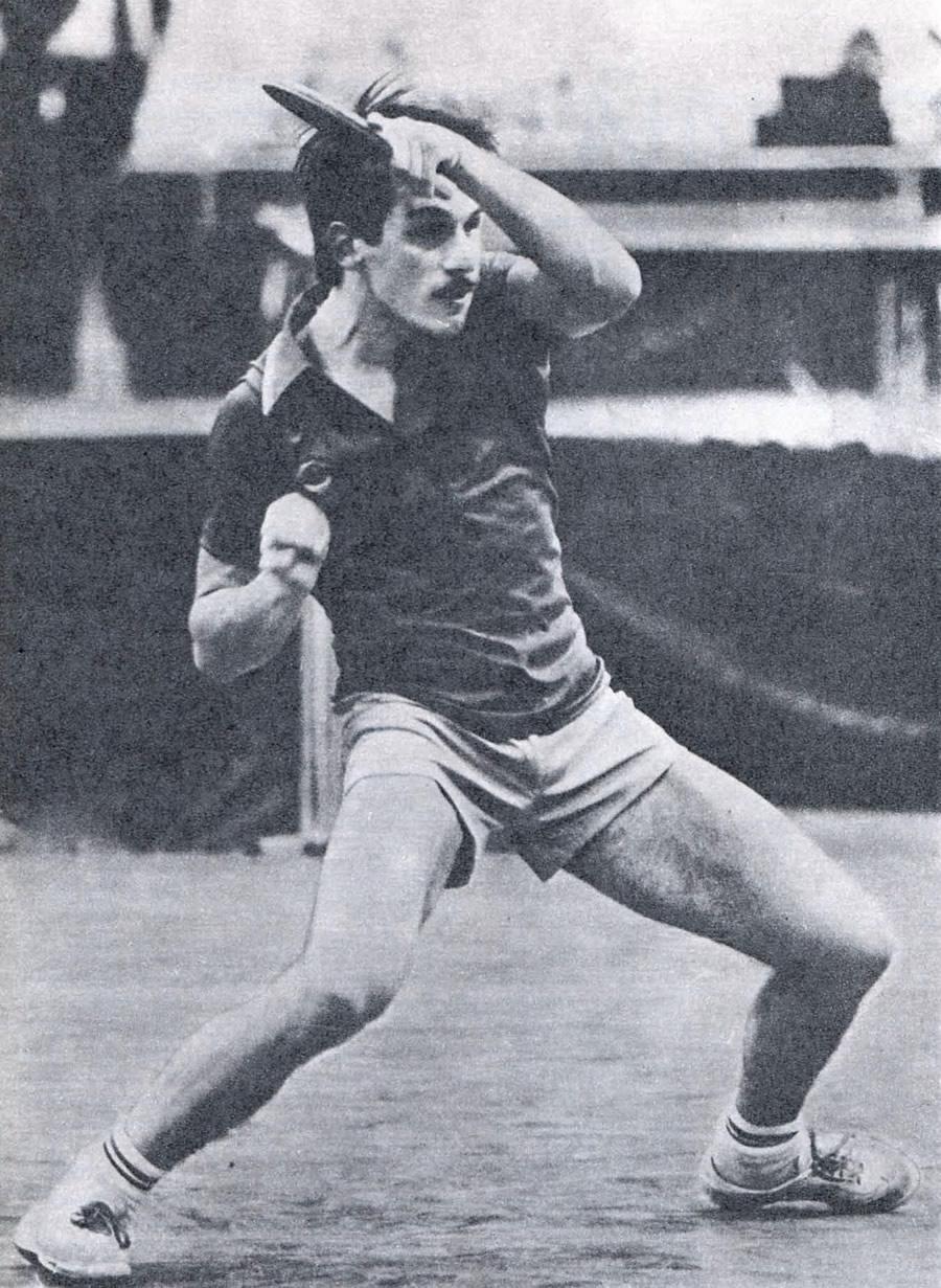 Призер чемпионата СССР 1983 года Иван Минкевич