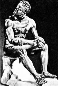 Скульптура Пифагора