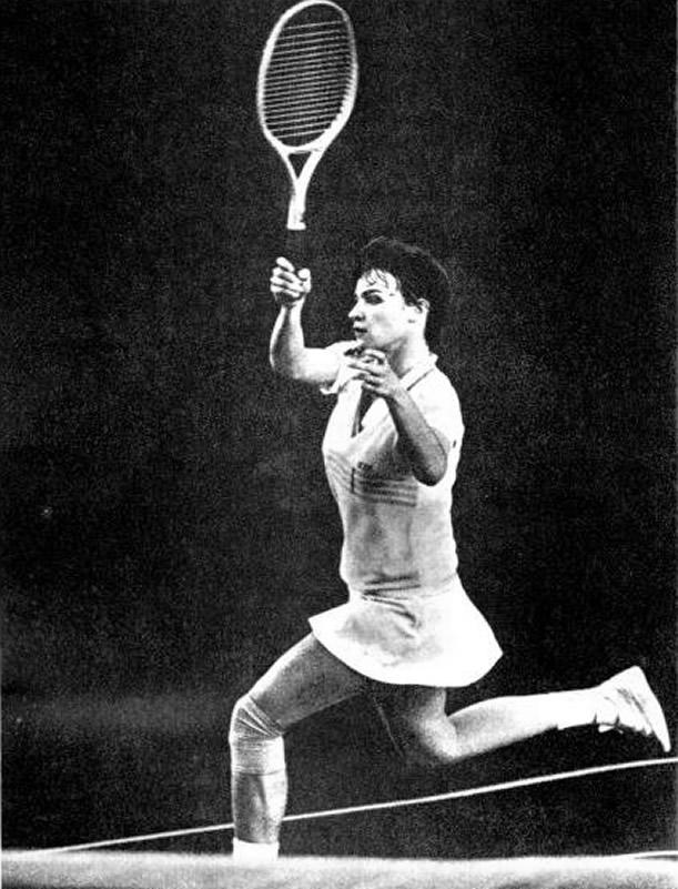 Теннисистка Наталья Медведева