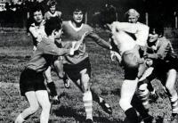 Вдохновение, азарт отличают юных регбистов в борьбе за мяч