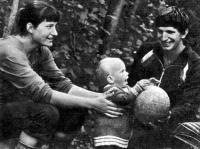 «Волейбольная» семья Антипкиных